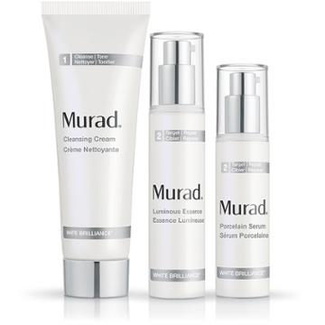 Murad White Brilliance Full Size Regimen  - 3-piece Set  - Murad Skin Care Products