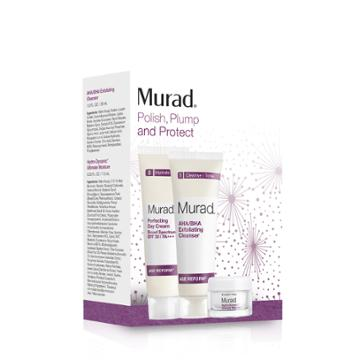 Murad Polish, Plump, And Protect  - 3-piece Set - Murad Skin Care Products