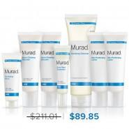 Murad Advanced Breakout Control Regimen 7-piece - 7-piece Set - Murad Skin Care Products
