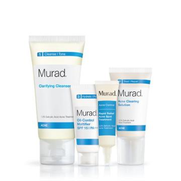 Murad Acne Control 30 Day Kit - 4 Piece-set - Murad Skin Care Products