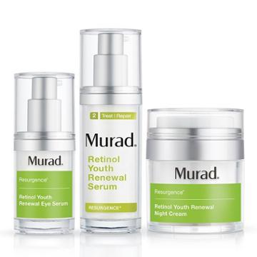 Murad Retinol Youth Renewal Regimen  - 3-piece Set - Murad Skin Care Products