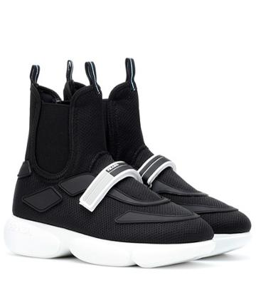 Burberry Cloudbust High Top Sneakers