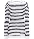 T By Alexander Wang Striped Long-sleeve Top