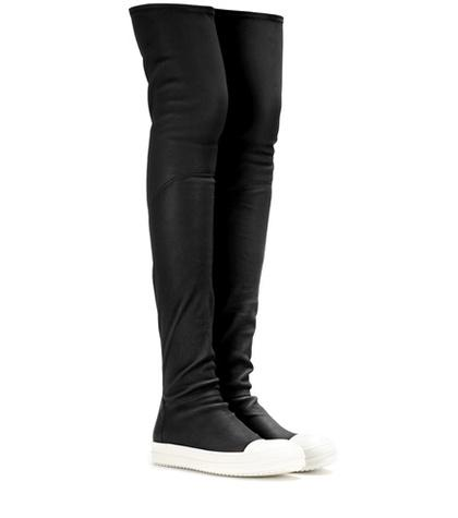 Rick Owens Over-the-knee Sock Sneakers