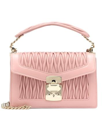 Off-white Confidential Leather Shoulder Bag
