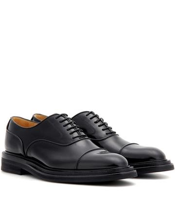 Haider Ackermann Pam Leather Oxford Shoes