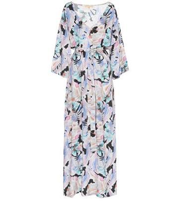 Melissa Odabash Becky Printed Voile Maxi Dress
