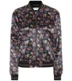 Saint Laurent Printed Bomber Jacket