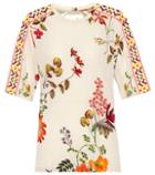 Etro Floral-printed Jersey Top
