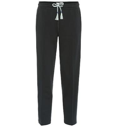 Gianvito Rossi Molly Cotton Jersey Trackpants