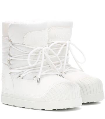 A.p.c. X Moon Boot ® Uranus Ankle Boots