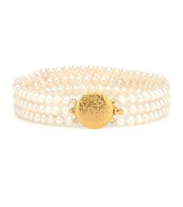Timeless Pearly Pearl Anklet