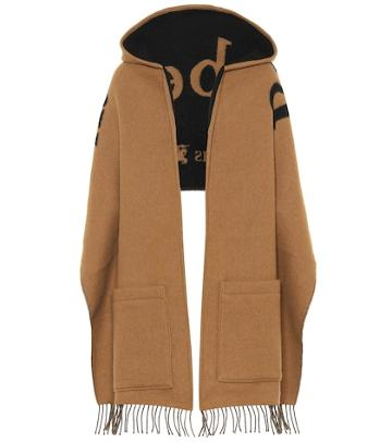 Burberry St Helen Wool And Cashmere Scarf