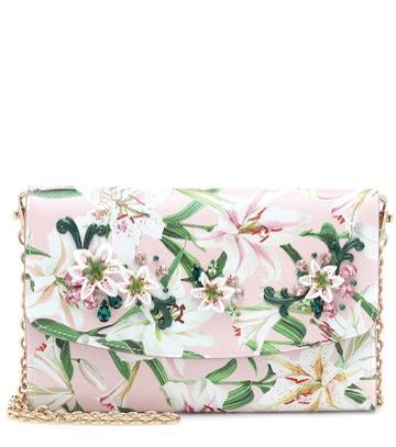 Jimmy Choo Wallet Leather Shoulder Bag