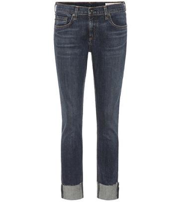 Gianvito Rossi Dre Mid-rise Jeans