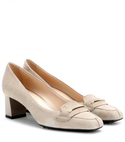 Tod's Suede Pumps