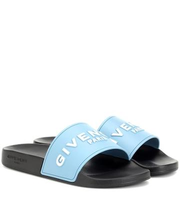 Givenchy Logo Rubber Slides