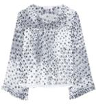 Rag & Bone Printed Chiffon Top