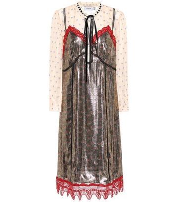 Coach Silk-blend Dress