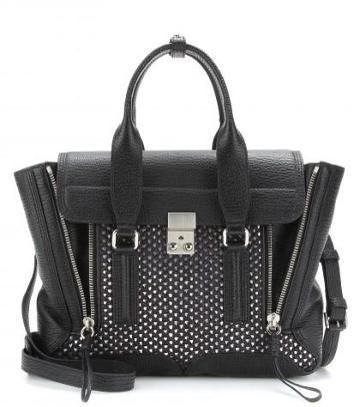 3.1 Phillip Lim pashli Medium Leather And Raffia Tote