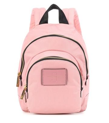 Gianvito Rossi Double Zip Mini Backpack