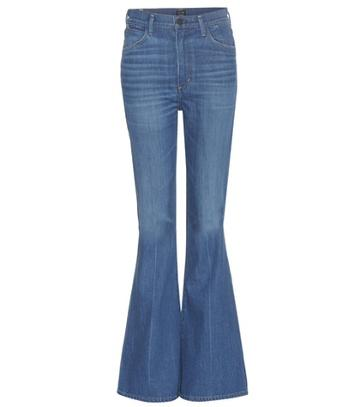 Gianvito Rossi Cherie High-rise Flared Jeans