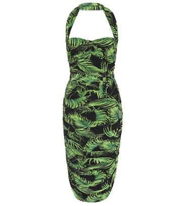 Norma Kamali Bill Stretch-jersey Dress