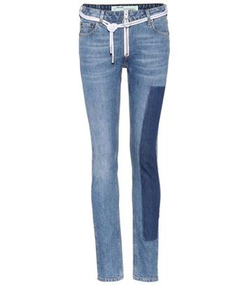 Off-white Exclusive To Mytheresa.com –  Vintage Skinny Jeans