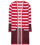 Missoni Crochet-knit Striped Cardigan