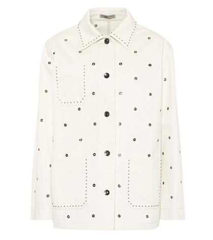 Bottega Veneta Cotton Eyelet Jacket