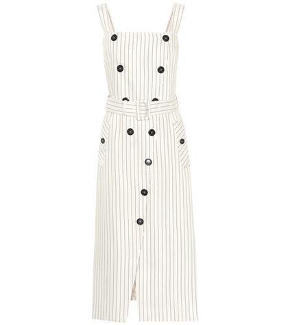 Bottega Veneta Audrey Striped Dress