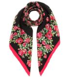Dolce & Gabbana Patterned Silk Scarf