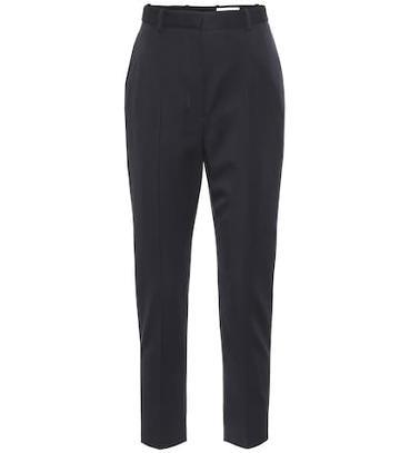 Alexander Mcqueen Virgin Wool High-rise Pants