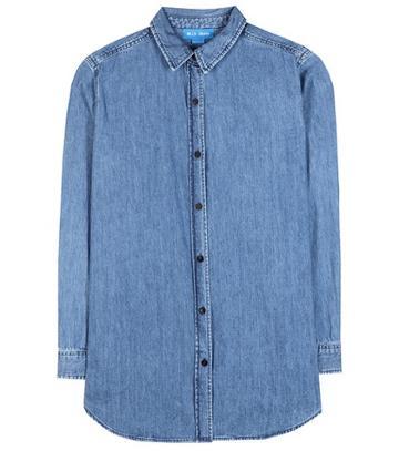 Gianvito Rossi Loose Denim Shirt