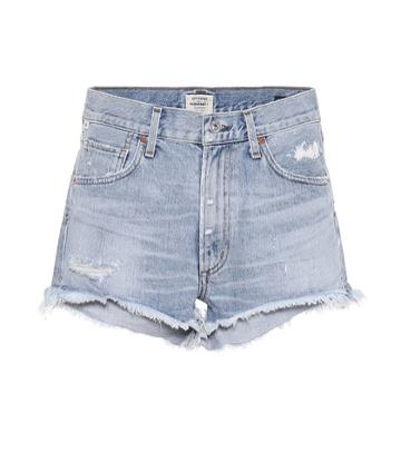 Citizens Of Humanity Danielle Mid-rise Denim Shorts
