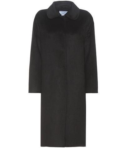 Prada Wool And Angora-blend Coat