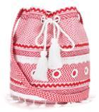 Frame Cotton Bucket Bag
