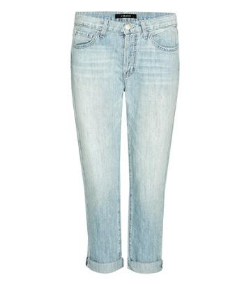Gianvito Rossi Sadey Low-rise Slim Straight Cropped Jeans