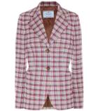 Valentino Plaid Blazer