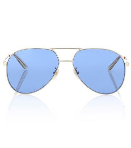 Malone Souliers Aviator Sunglasses