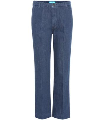 Gianvito Rossi Cropped Jeans With Appliqué