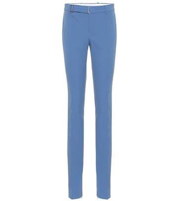 Etro Technical Gabardine Skinny Pants