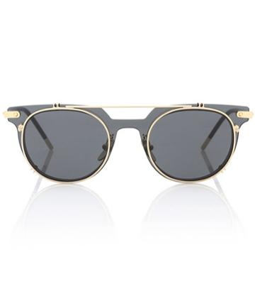 Dolce & Gabbana Flip Round Sunglasses