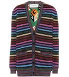 Balenciaga Striped Cardigan
