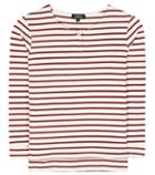 A.p.c. Striped Cotton Top