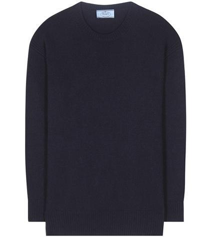 Prada Wool And Cashmere Sweater