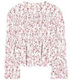 Stuart Weitzman Floral-printed Top