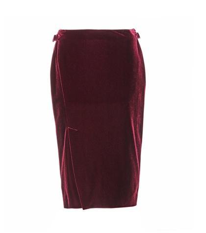 Calvin Klein 205w39nyc Velvet Skirt