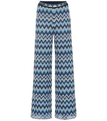 Missoni Wide-leg Knit Pants