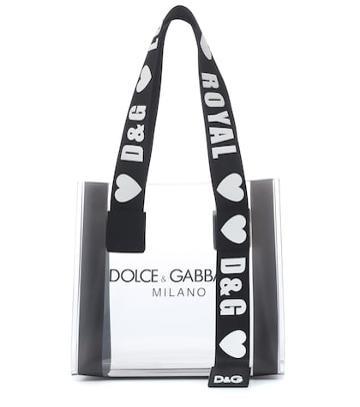 Dolce & Gabbana Street Pvc Tote